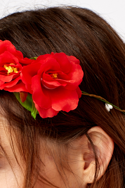 Event Floral Headband