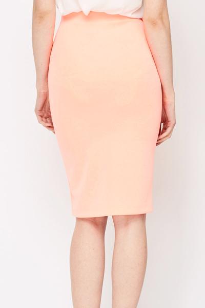 Light Pink Pencil Skirt Just 163 5