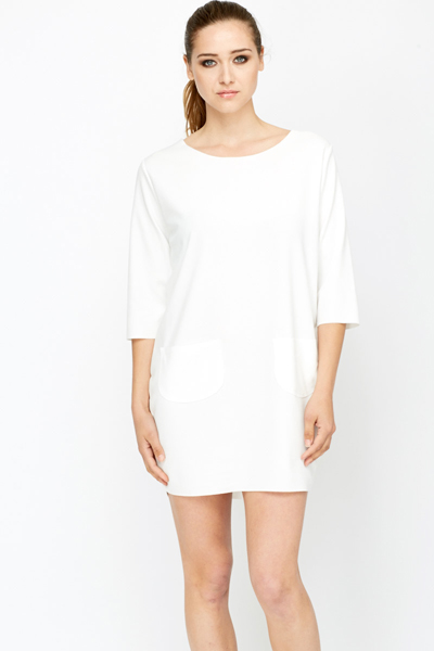 Pocket Front Tunic Dress