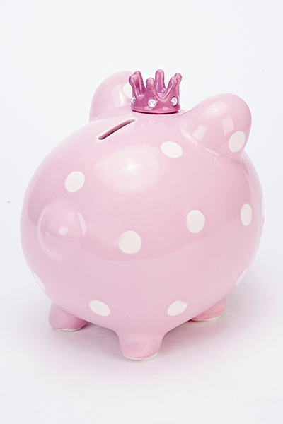 Ceramic Princess Piggy Bank