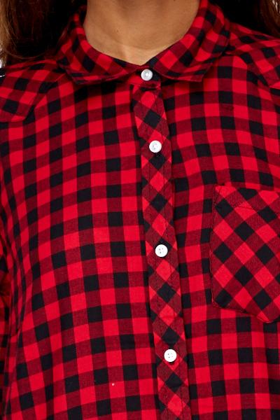 Red/Black Check Shirt - Just £5