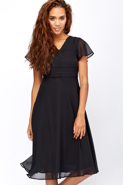 5b69fc1866e Flared Hem Midi Dress - Just £5