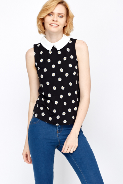 Rent Black Collar Top by Derek Lam 10 Crosby for $50 only at Rent the Runway.