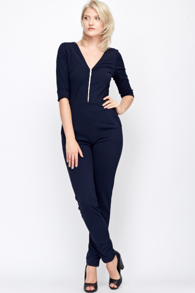 61da6f06363 Zip Front Jumpsuit - Just £5