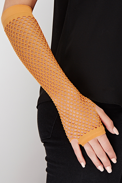 Ladies Long Fishnet Gloves