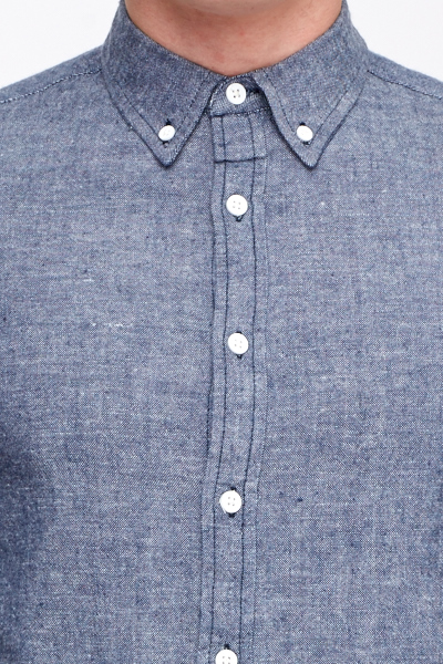 Speckled Button Shirt