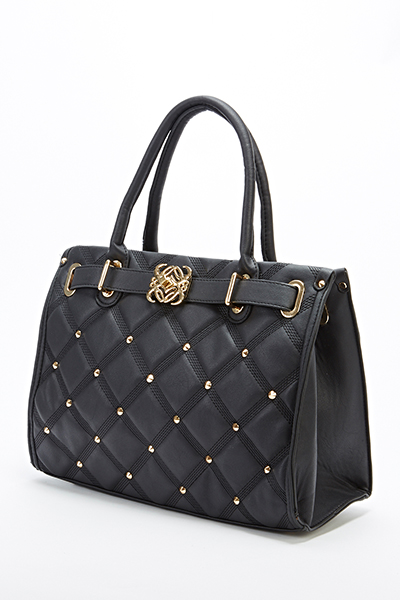 Studded Quilted Bag