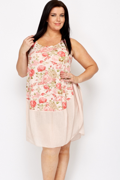 Light Weight Floral Summer Dress