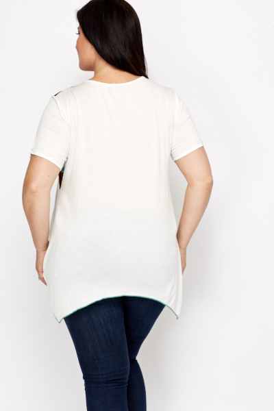 Long Sided Casual Top