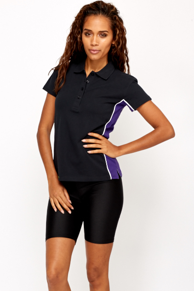 Button Up Sports Top