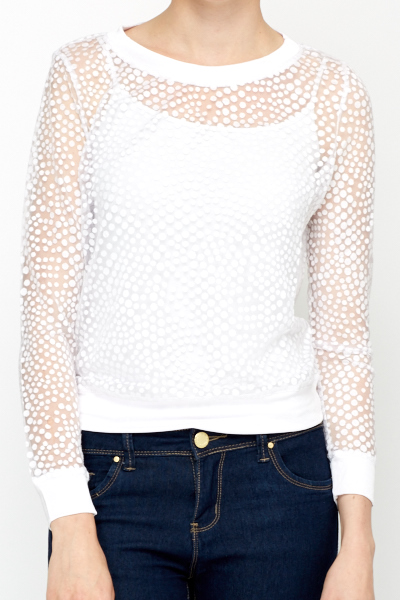 Dotted Mesh Top