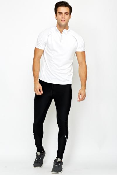 Zipped Hem Mens Running Trousers - Just $7