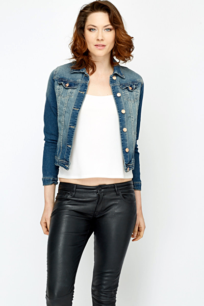 Casual Wash Out Denim Jacket
