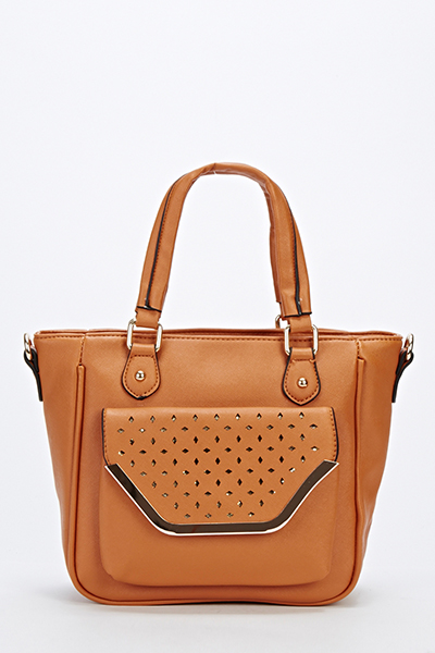 Small Cut Out Front Crossbody Bag