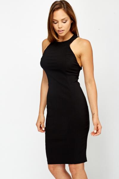 9e42ebb8b47 Strappy Back High Neck Dress - Just £5
