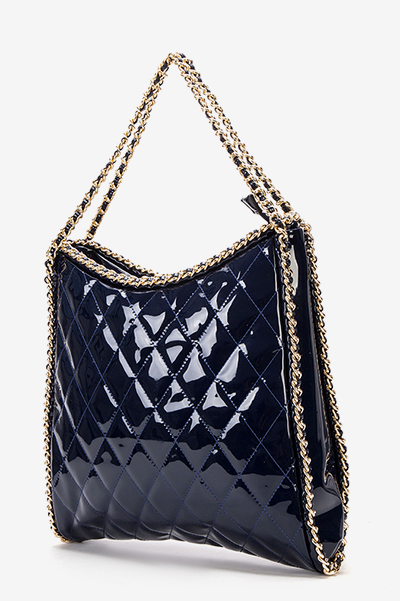 PU Quilted Chain Bag