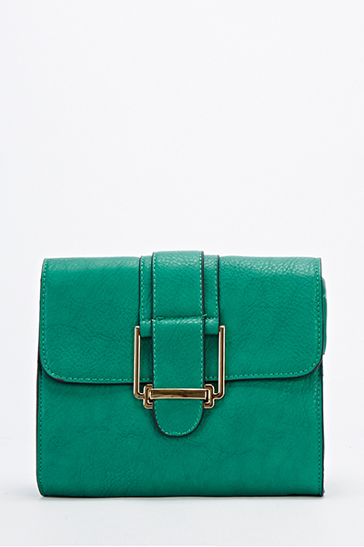 Faux Leather Mini Crossbody Bag