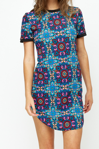 Ornate Shift Dress