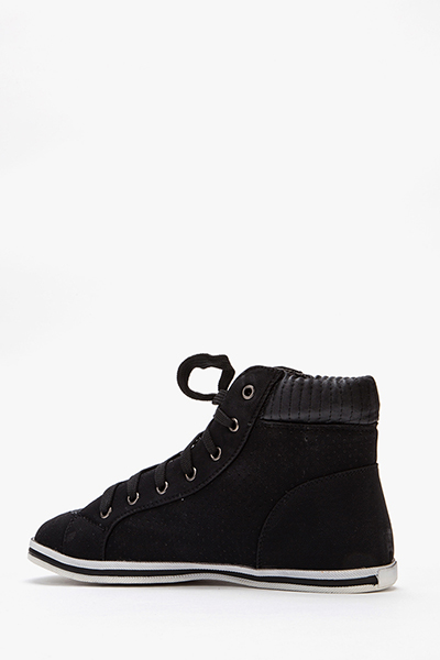 Black High Top Trainers