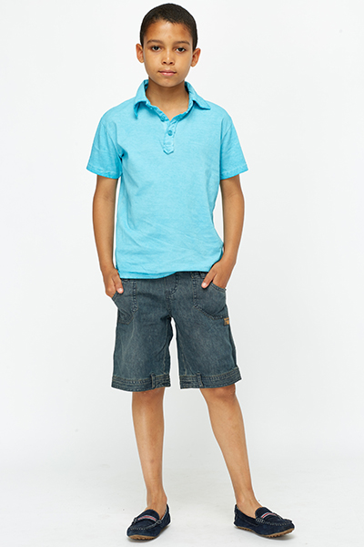 Boys Denim Shorts - Just u00a35