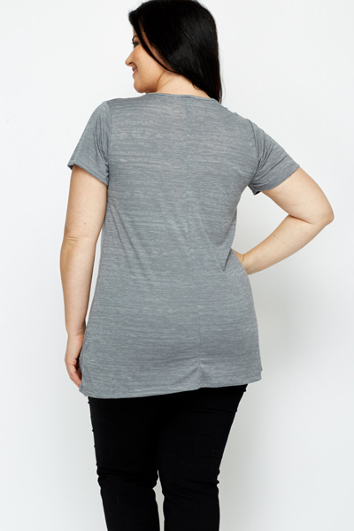Speckled Grey Top