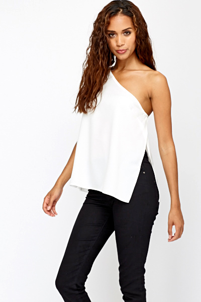 Free shipping BOTH ways on one shoulder tops, from our vast selection of styles. Fast delivery, and 24/7/ real-person service with a smile. Click or call