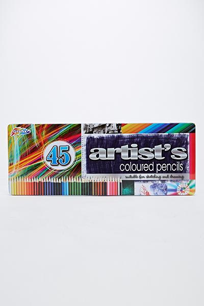 Image of 45 Coloured Pencil Set