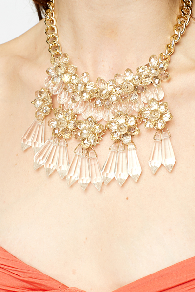 Cluster Statement Necklace