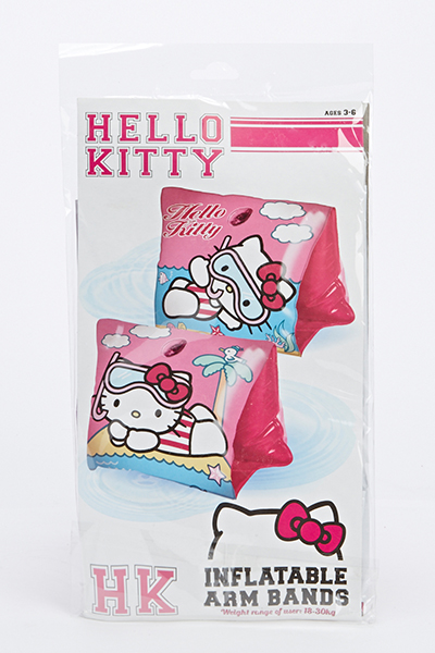 Image of Hello Kitty Inflatable Arm Bands