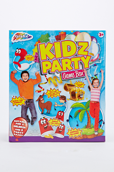 Kidz Party Game Box