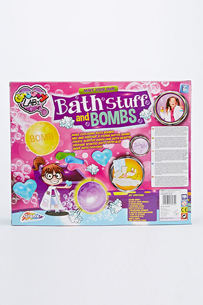 Make Your Own Bath Stuff And Bombs Kit