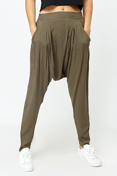Low Crotch Harem Pants