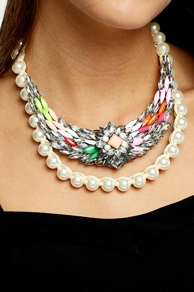 Layered Statement Necklace