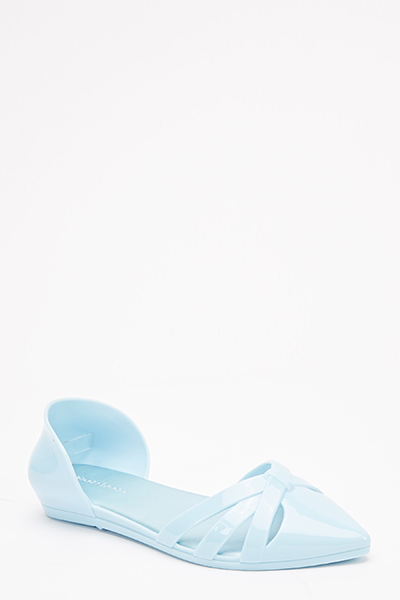 Jelly Pointed Flats
