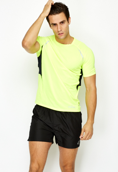 Perforated Back Mens Sports Top