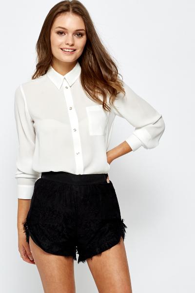 Classic White Shirt - Just £5