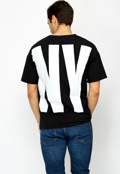 Large Printed T-Shirt
