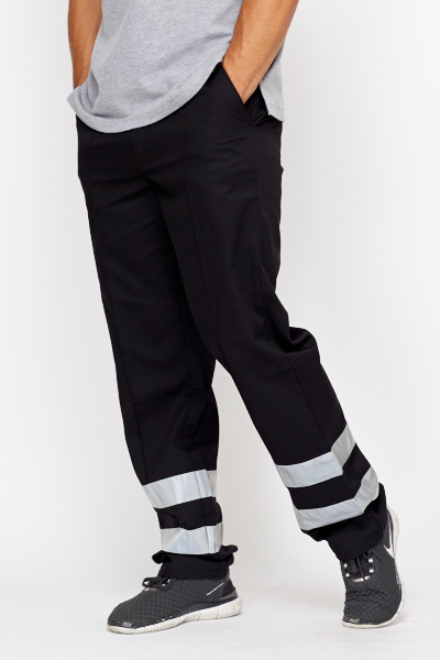 High Visibility Leg Trim Work Trousers