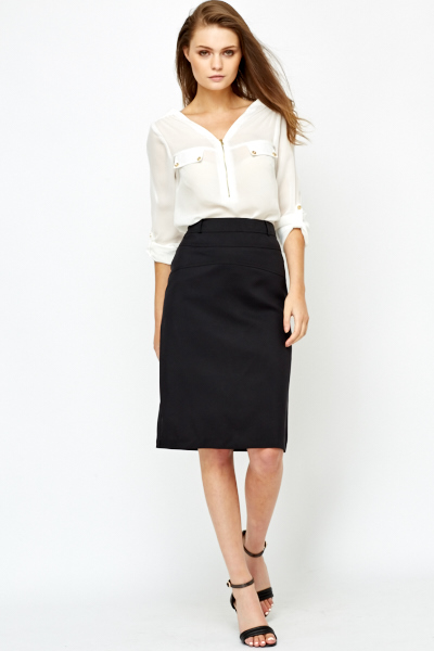 Formal Black Skirt - Just £5