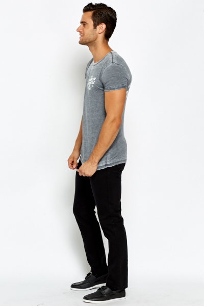 Mens Slim Fit Black Jeans