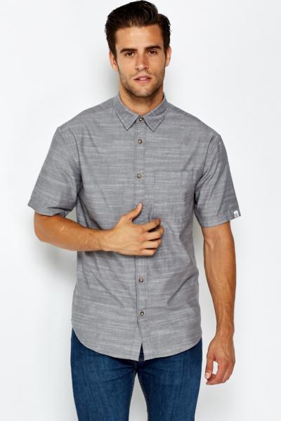 a793be6a22f Grey Short Sleeve Shirt - Just £5
