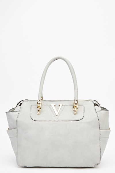 V Detail Tote Bag