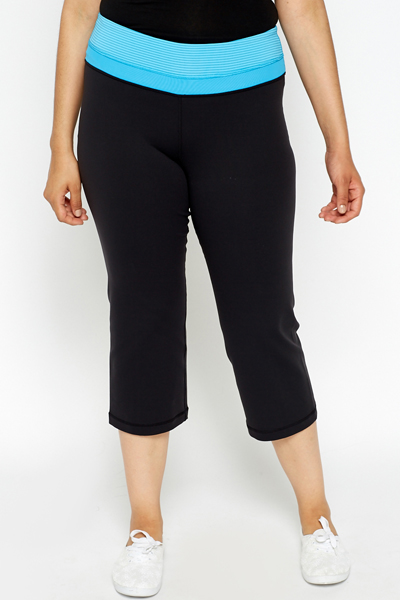 Cropped Sports Trousers
