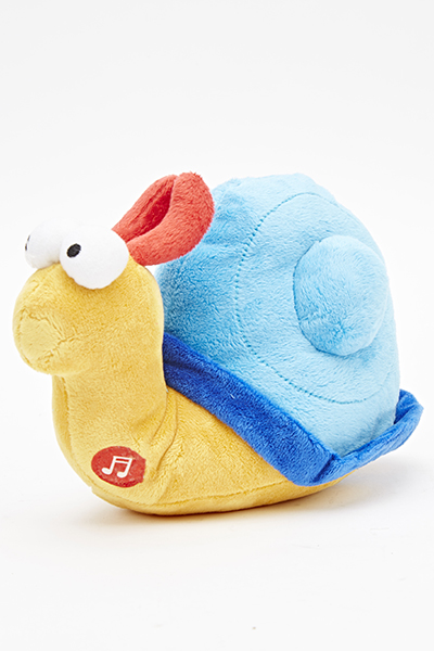 Musical Snail Cuddly Toy