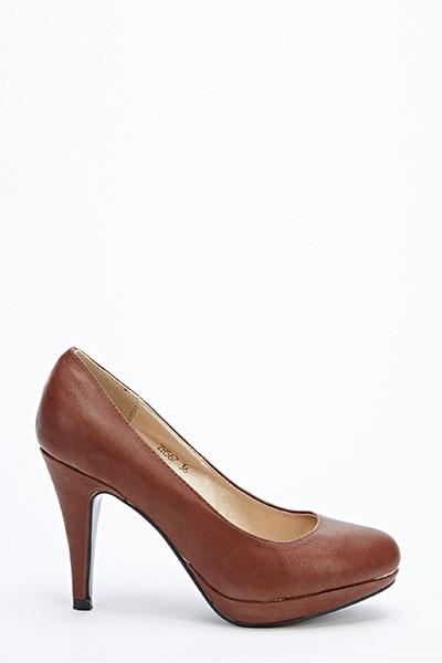 87d492b83d Round Toe Court Shoes - Just £5