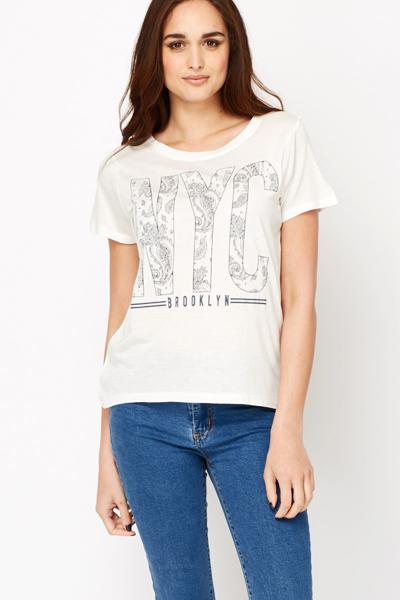 3c31a870d Paisley NYC Printed T-Shirt - Just £5