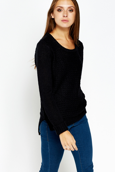 Casual Round Neck Pullover