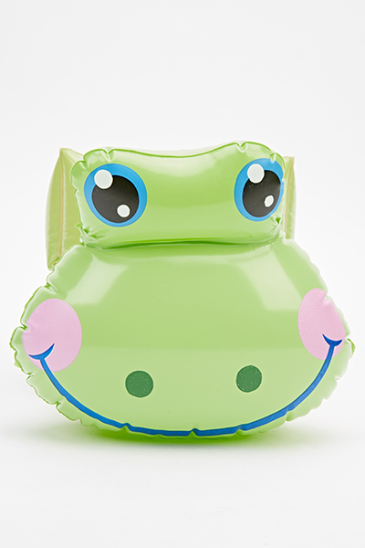 Frog Arm Bands Light Green Pink Just 163 5