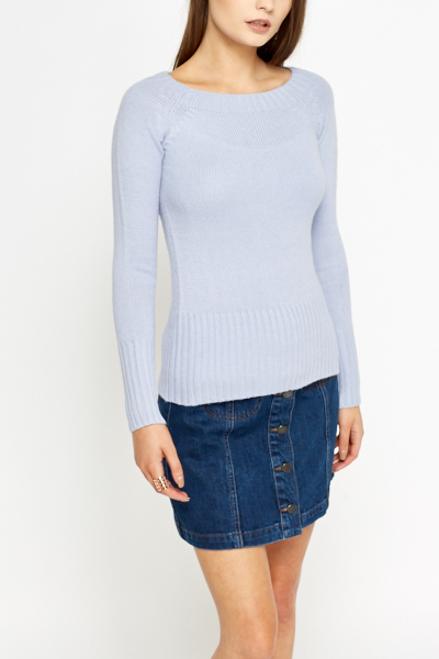Ribbed Fitted Sweater