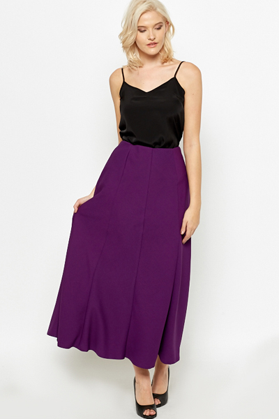 Purple Maxi Skirt - Just £5